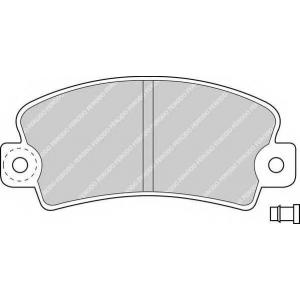 FERODO FDB113 Комплект тормозных колодок, дисковый тормоз Дача 1310