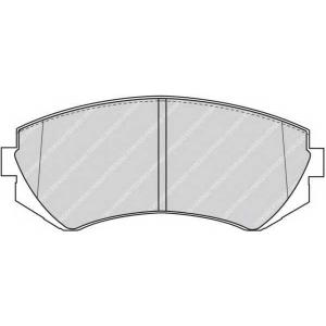 FERODO FDB1166 Колодки гальмівні дискові