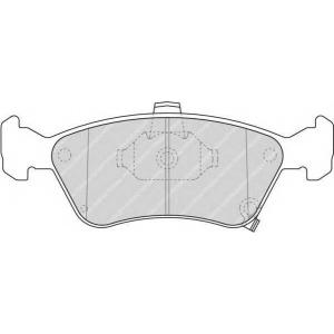 FERODO FDB1321 Колодки гальмівні дискові