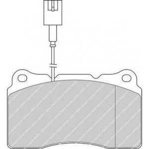 FERODO FDB1334 Колодки тормозные дисковые, к-кт.