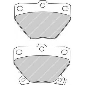 FERODO FDB1395 Колодки тормозные дисковые, к-кт.