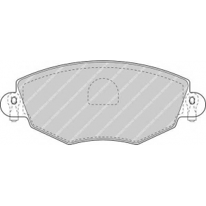 FERODO FDB1425 Колодки гальмівні дискові