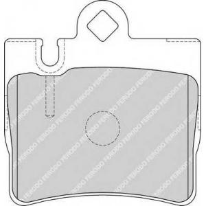 FERODO FDB1427 Колодки гальмівні дискові