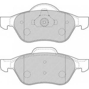 FERODO FDB1440 Колодки тормозные дисковые, к-кт.