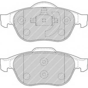 FERODO FDB1441 Колодки тормозные дисковые, к-кт.