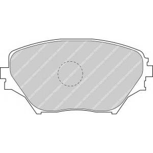 FERODO FDB1514 Колодки гальмівні дискові