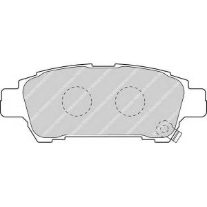 FERODO FDB1530 Колодки гальмівні дискові