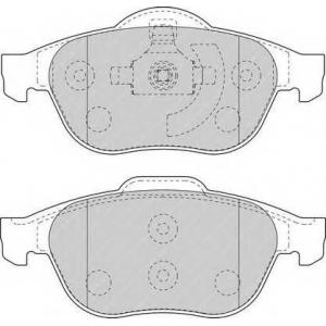 FERODO FDB1541 Колодки гальмівні дискові