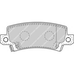 FERODO FDB1574 Колодки гальмівні дискові