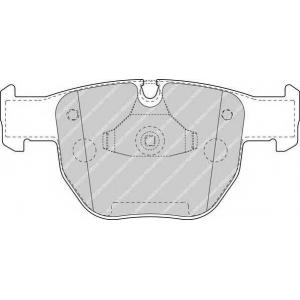 FERODO FDB1597 Колодки гальмівні дискові