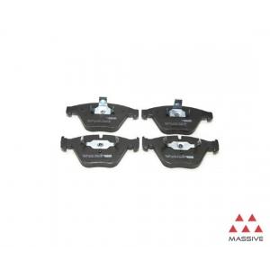Комплект тормозных колодок, дисковый тормоз fdb1628 ferodo - BMW 7 (E65, E66) седан 730 d
