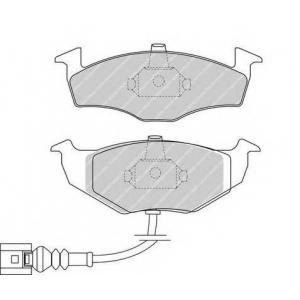 FERODO FDB1634 Колодки гальмівні дискові