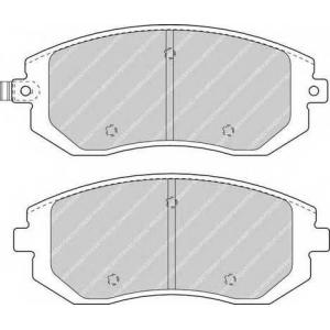 FERODO FDB1639 Колодки гальмівні дискові