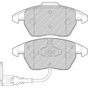 FERODO FDB1641 Колодки тормозные передние VW Caddy 03- с датчиком