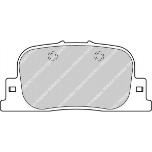 FERODO FDB1686 Колодки гальмівні дискові