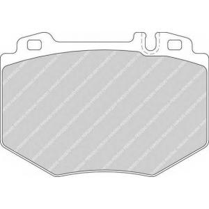 Комплект тормозных колодок, дисковый тормоз fdb1714 ferodo - MERCEDES-BENZ S-CLASS (W220) седан S 600 (220.176)