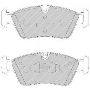 FERODO FDB1751 Колодки гальмівні дискові