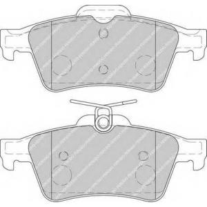Комплект тормозных колодок, дисковый тормоз fdb1766 ferodo - JAGUAR S-TYPE (CCX) седан 3.0 V6