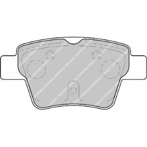FERODO FDB1784 Колодки гальмівні дискові