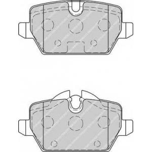 FERODO FDB1806 Колодки гальмівні дискові