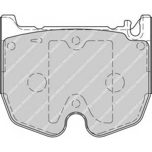 FERODO FDB1810 Комплект тормозных колодок, дисковый тормоз Мерседес Слр