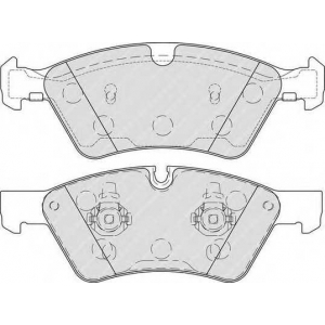 Комплект тормозных колодок, дисковый тормоз fdb1830 ferodo - MERCEDES-BENZ R-CLASS (W251, V251) вэн R 350 CDI 4-matic (251.023, 251.123)