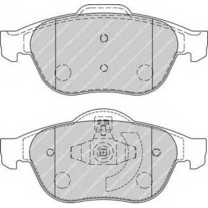 FERODO FDB1865 Колодки тормозные дисковые, к-кт.