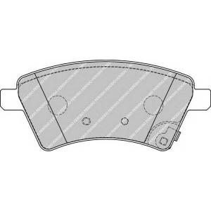 FERODO FDB1875 Гальмівні колодки, дискові