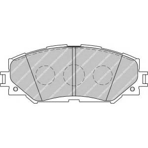 FERODO FDB1891 Колодки гальмівні дискові