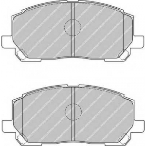 FERODO FDB1911 Колодки гальмівні дискові