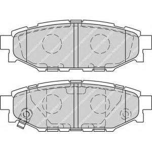 FERODO FDB1947 Гальмівні колодки, дискові
