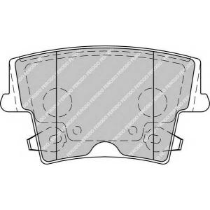 FERODO FDB1953 Колодки гальмівні дискові