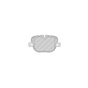 FERODO FDB4106 Колодки гальмівні дискові
