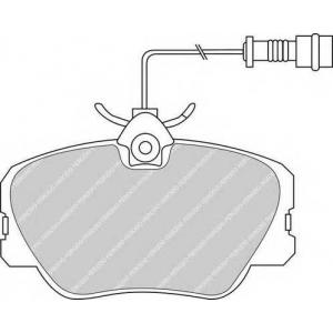 Комплект тормозных колодок, дисковый тормоз fdb415 ferodo - MERCEDES-BENZ 190 (W201) седан E 2.3-16
