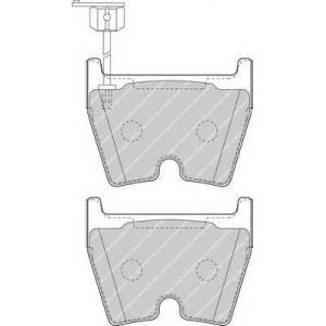 FERODO FDB4165 Комплект тормозных колодок, дисковый тормоз Ауди Р8 Спайдер