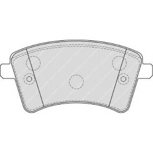 FERODO FDB4185 Колодки гальмівні дискові