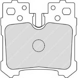 FERODO FDB4210 Гальмівні колодки, дискові