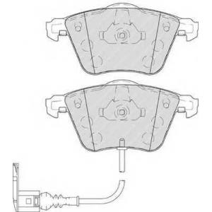 FERODO FDB4223 Колодки гальмівні дискові