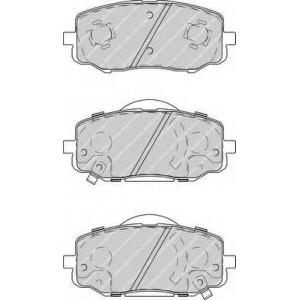 FERODO FDB4234 Колодки гальмівні дискові