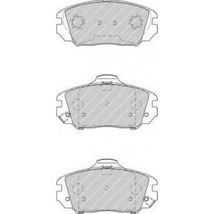 FERODO FDB4246 Колодки гальмівні дискові