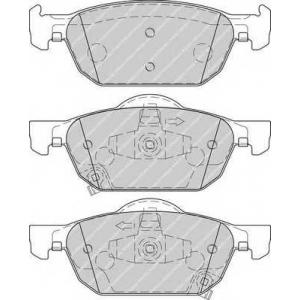 FERODO FDB4269 Колодки гальмівні дискові
