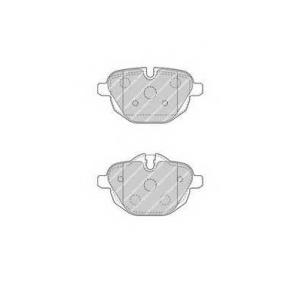 FERODO FDB4376 Колодки гальмівні дискові