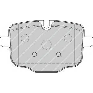 FERODO FDB4381 Колодки гальмівні дискові