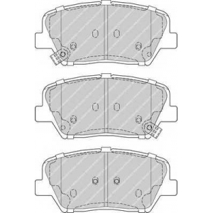 FERODO FDB4396 Колодки гальмівні дискові