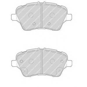 FERODO FDB4612 Комплект тормозных колодок, дисковый тормоз Форд Б-Макс