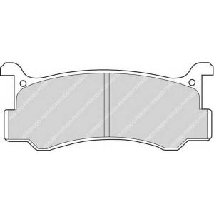 FERODO FDB482 Комплект тормозных колодок, дисковый тормоз Дайхатсу