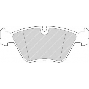 FERODO FDB577 Комплект тормозных колодок, дисковый тормоз Ягуар