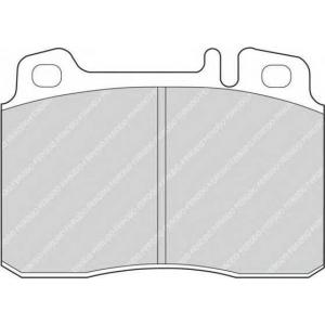 FERODO FDB646 Колодки гальмівні дискові
