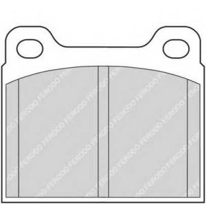 FERODO FDB704 Комплект тормозных колодок, дисковый тормоз Опель Кадет
