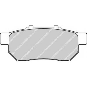 FERODO FDB778 Гальмівні колодки, дискові